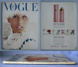 Vogue Magazine - 1963 - October 15th